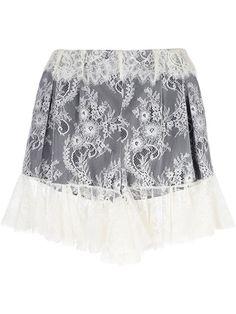 PHILOSOPHY DI LORENZO SERAFINI lace shorts. #philosophydilorenzoserafini #cloth #shorts