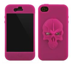 Skull Silicone Case for iPhone 4S/4
