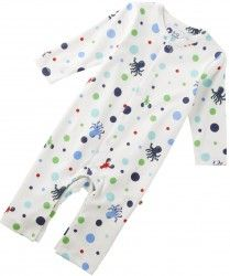 Blue Sealife Playsuit (up to 12mths)