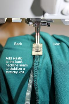 JanMade: October 2011 - Tips for sewing knit top. http://janmade.blogspot.co.uk/2011/10/kwik-sew-3740.html