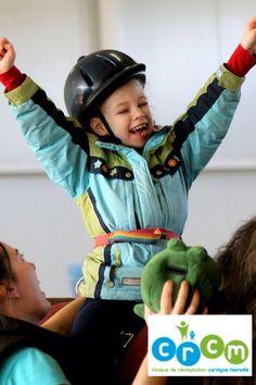 Hippothérapie et services pédiatriques  Www.crcm.ca