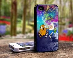 Adventure time iphone 4 case iphone 5 case samsung galaxy s3 case. $16.89, via Etsy.