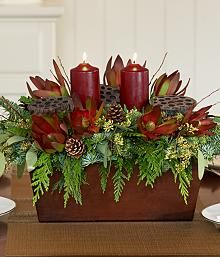Wine Country Collection - Christmas Centerpiece