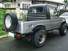 images about Suzuki Samurai / Sierra / Jimny / Sj on . Suzuki Jimny, Land Cruiser, Offroad, Samurai, Suzuki Cars, Cool Jeeps, Jeep Truck, Truck Parts, Custom Cars