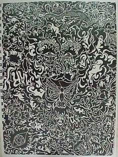 Ink drawing by M. Haworth