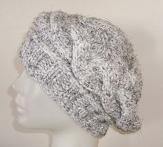 Hand Knit Hat winter hat  Womens hat Wooly hat in by earflaphats, $29.99