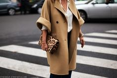 South Molton St Style: [Essential] The Camel Coat