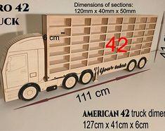 car toy shelf storage EURO 42 Truck Toy Shelves, Shelf, Euro, Etsy Seller, Trucks, Shelves, Track, Truck, Shelving