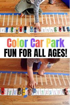 color words indoor game