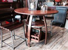 Barrique Bistro Table - 36x40x40
