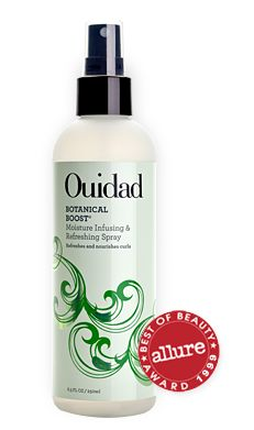 Ouidad Botanical Boost Moisture Infusing & Refreshing Spray for Nourishing and Rejuvenating Curly Hair #ouidadcurls