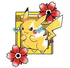 Pokemon Yellow Gameboy, Pikachu Tattoo, Yellow Tattoo, Pokemon Fan Art, Catch Em All, Piercing Ideas, Tattoo Inspiration, Old School, Videogames