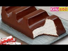 Gâteau façon barette kinder chocolat géante -Giusté Cuisine