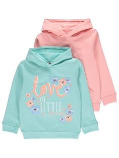 2 Pack Assorted Hoodies | Kids | George
