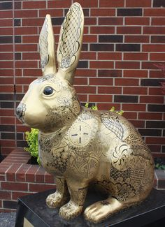 Year of the Rabbit: Tangled Hare - Cleveland Art Project