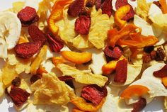 Mix de frutas deshidratadas