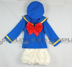 Donald Duck Costume. I need to find a way to make or find something like this for my first Mickey's Halloween party this year!