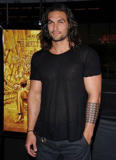 jason momoa - GOT Khal Drogo The Devil's Double, Hot Men, Sexy Men, Gorgeous Men, Beautiful People, Nathan Owens, Jason Momoa Aquaman, Khal Drogo, Thank You Lord