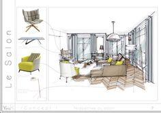 Réhabilitation d'un appartement Parisien Architecte intérieur Yana.K