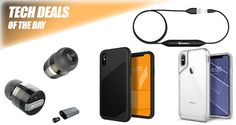 Tech Deals: 75% Off iPhone X Cases, Truly Wireless Earphones, Lightning Cable With Built-In Battery, More