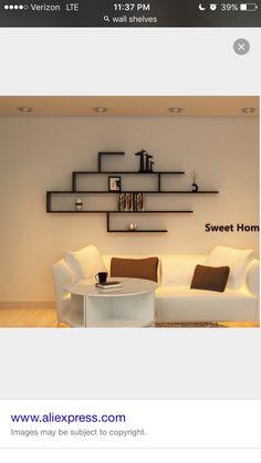 💞♡ #جہانزیب خاں✔️✔️✅✅ 💞♡ #جہانزیب خاں✔️✔️✅✅ Wall Shelf Decor, Wall Shelves Design, Room Wall Decor, Living Room Decor, Bedroom Decor, Home Decor Furniture, Furniture Makeover, Diy Home Decor, Furniture Design