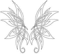 Celtic Butterfly Tattoo Designs For Girls Picture 1 Corner Tattoos . Celtic Butterfly Tattoo Designs For Girls. Butterfly Tattoo Designs, Tattoo Designs For Girls, Butterfly Design, Butterfly Wings, Tattoo Designs Men, Tribal Butterfly, Art Designs, Celtic Symbols, Celtic Art