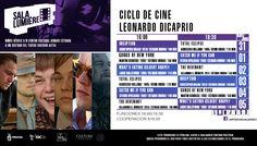 Cartelera Sala Lumiére, Ciclo de Cine: Leonardo Dicaprio. Del 31 de mayo al 5 de junio de 2016. Dos funciones: 16:00 y 18:30 horas. Cooperación: $10.00 #Culiacán, #Sinaloa.