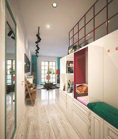 Casinha colorida: Um apartamento? Um loft? Chique? Exótico?