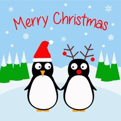 Christmas Penguins - Ice Rink