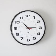 large simplex school wall clock. $127.00, via Etsy. (love this store - AMRADIO at ETSY)