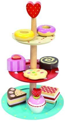 Le Toy Van Honeybake Collection-3 Tier Cake Stand Set - Free Shipping