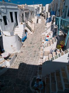 Folegandros island.