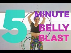 5 Minute Calorie Blasting Hoop Workout - YouTube