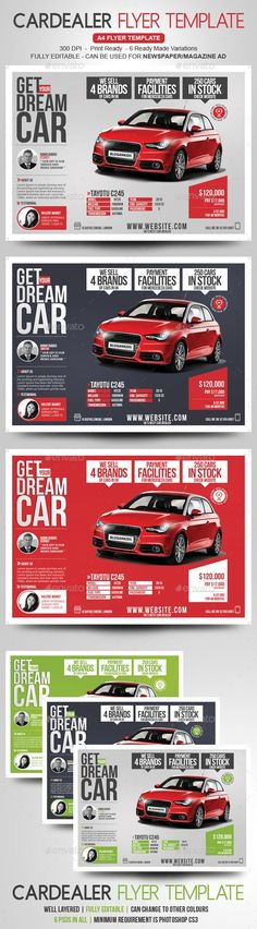 Car Dealer Flyer / Magazine Ad - Commerce Flyers