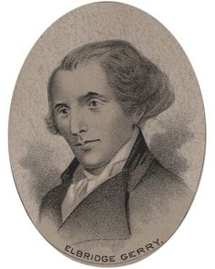 """Elbridge Gerry (1744-1814) is the only singer of the Declaration of Independence buried in the mid-Atlantic region. After the Revolutionary War, he served in the MA legislature and was governor when a redistricting bill became the butt of political jokes because a major district looked like a salamander, thus """"Gerrymander"""" into the political lexicon.(R29/S9)"""