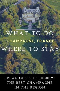 Where to stay and what to do in Champagne, France. If you're looking for the best champagne in the region, look no further! Vacation Places, Dream Vacations, Places To Travel, Places To Visit, Champagne Region France, Wine Tourism, Reims, Adventure Is Out There, France Travel