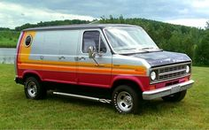 While these versions of the ford econiline did come customized, it was just barely, but it was enough to get you started. I loved these van.