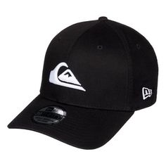 Quiksilver Mountain And Wave Hat - Black / White