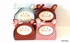.: Páscoa 2012 - caixinhas de coelho