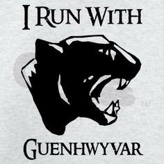 I Run With Guenhwyvar @Tom Shelley