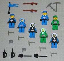 LEGO Minifigures 7 Arctic People  Adventure Guys Army Tools Lego Minifigs Toys