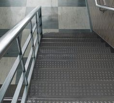 Johnsonite® Raised Round Surface Rubber Stair Treads Is Their Most Popular  Tread, Leading The Way In Contemporary Design, 75 Colors, With Optional  Grit Or ...