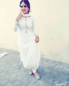 email sajsacouture@gmail.com to purchase your exclusive purity white piece!🎀 White Punjabi Suits, Punjabi Salwar Suits, Designer Punjabi Suits, Indian Suits, Indian Designer Wear, Indian Dresses, Indian Wear, Patiala Dress, Patiala Suit
