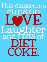 love and diet coke