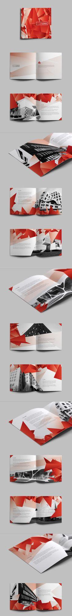 Ruby Square Brochure. Download here: http://graphicriver.net/item/ruby-square-brochure/4910099?ref=abradesign #design #brochure