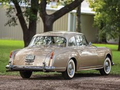 1958 Bentley S1 Continental Coupe by Park Ward Maintenance of old vehicles: the…