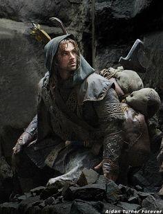 Aidan Turner as Kili ~ The Hobbit. Still miss him as Mitchell on BBC's Being Human.