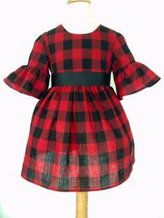 tartan plaid little girl dress | ZARA | Kleider für kleine ...
