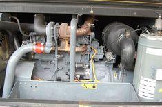 Použitý pojízdný kompresor Atlas Copco XAHS 186 (dochlazovač)