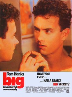 BIG!  Tom Hanks - Movies to see before we go to New York. He's gorgeous here :0